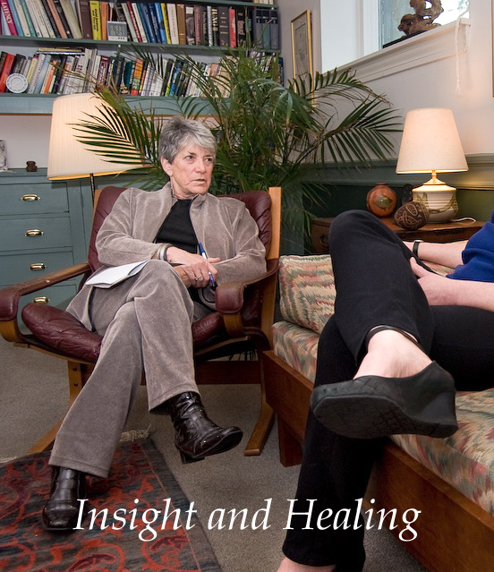 Therapist in Session - Insight and Healing